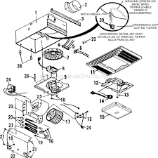 broan exhaust fan parts broan 655 parts list and diagram ereplacementparts com