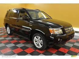 2007 Black Toyota Highlander Hybrid Limited 4WD #33673666 ...