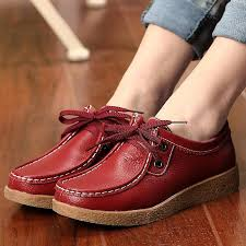 spring autumn women platform shoes soft leather shoes woman fashion warm fur loafers casual flat shoes