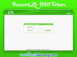 Below is list of all the username and password combinations that we are aware of for zte routers. Kumpulan Password Username Modem Zte F609 Indihome 2020 Terbaru Kaca Teknologi