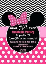 Minnie Mouse Invitations Free Invitation Template Strassenkreuzer Org