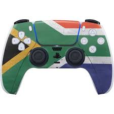 south africa flag distressed ps5