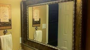 large bathroom mirror frame. Wonderful Bathroom Mirror Also Large Vanity Mirrors Framed 15 Verdesmoke Regarding Popular Frame M