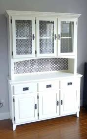 corner kitchen furniture. Kitchen Hutch Cabinets Furniture In White Color With Glass Doors Corner