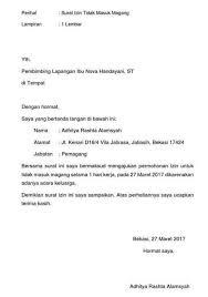 Contoh surat jalan pengiriman barang xls. 25 Contoh Surat Permohonan Magang Kerja Mahasiswa Contoh Surat