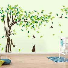 large wall decal tree removable green wall decor living room wall stickers home decor wallpaper mural on wall art images home decor with large wall decal tree removable green wall decor living room wall