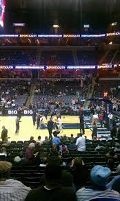 Fedex Forum Section 115 Row S Home Of Memphis Grizzlies