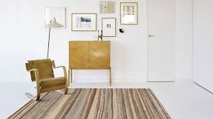 modern interior design with modern rugs