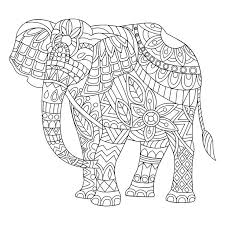 coloring pages of elephants elephant page printable baby colouring free
