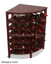 wine bottle storage furniture. add a finish to our wood quarter round corner wine rack bottle storage furniture
