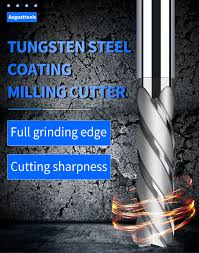Endmill Cutting HRC50 4 Flute <b>Mill</b> 3mm 4mm 6mm 8mm 10mm ...