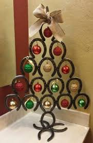 horseshoe christmas tree ideas christmas decoration ideas creative horseshoe  art ideas
