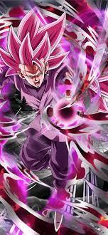 Black Goku Black Rose 4k iPhone ...
