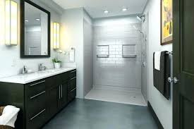 replace bathtub with shower replace bathtub shower fixtures subway tile above floor rough pans simplify tub