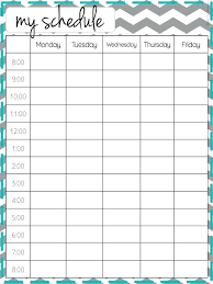 Weekly Meeting Calendar Template Weekly Timetable Printable Tsurukame Co