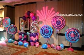 candyland sweet 16 decorations. Perfect Sweet Candyland Themed Sweet 16  Celebrity Event Decor Jacksonville FL  Balloons Balloon Decorations  In Candyland Sweet N