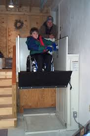 Operation Independence LLC  Vertical Platform Lift - Exterior wheelchair lifts
