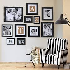 black picture frames wall. Gallery Frame Black Wall Collection Various Sizes Picture Frames Notonthehighstreet.com