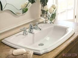 Sink Bowls On Top Of Vanity Full Size  Bathroom95