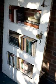 hand made furniture and decorations from old doors shelves