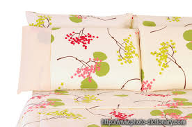 bedding photo picture definition at