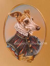 anthropomorphic pet portrait dog in costume art
