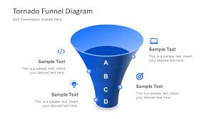 Free Tornado Funnel Diagram For Powerpoint