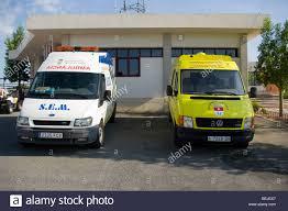s e m stock photos s e m stock images alamy spanish ambulance and animal ambulance la marina spain stock image