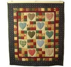 Shop Quilt Designs in Heart and Nine Patch Design at Almost Amish ... & Heart And Nine Patch Design - Handmade Amish Quilts For Sale Adamdwight.com