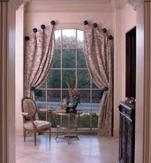 Window Treatments for Tricky Windows. Curtains For Arched ...