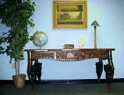 black bear coffee table ab with glass top