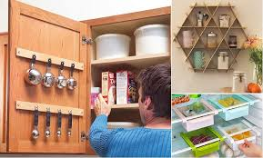 Quick And Clever Kitchen Storage Ideas Home Design Garden Unique Kitchen Storage Design