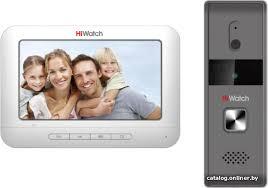 <b>HiWatch DS</b>-<b>D100K комплект</b> видеодомофона купить в Минске