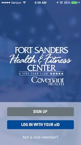 fort sanders health and fitness screenshot 1