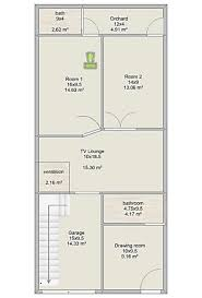 Architect Map Design Online Winner 3 Marla Design Of House 17 By 45