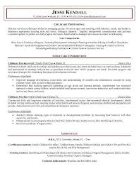 Childcare Resume Template Best Child Care Resume Elegant 24 Child Care Director Resume Bizmancan