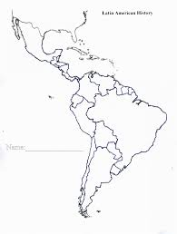 North And South America Blank Map North America Map Quiz Climatejourney Org