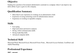 Administrative Resume Template Self Employed Resume Templates