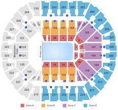 Oakland Seating Chart Oakland Arena Seating Chart Oakland