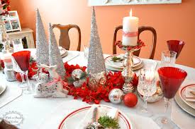 red and silver table decorations. Red White And Silver Christmas Table Decorations Psoriasisguru Com R