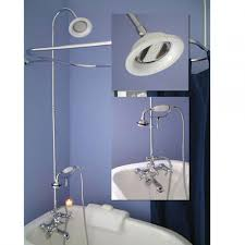 dorable turn clawfoot tub into shower frieze bathroom with bathtub