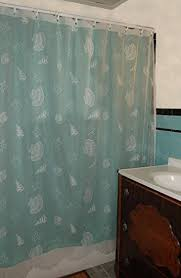 curtain chic seashells lace shower curtain white chic white home
