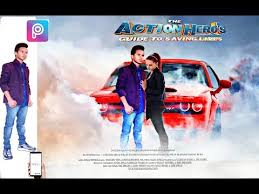 romantic movie poster picsart editing in romantic movie poster by pf editing youtube