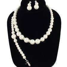<b>Pearl</b> Necklace <b>Set</b>