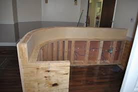 DIY reception desk Great step-by-step pictures & plans http://