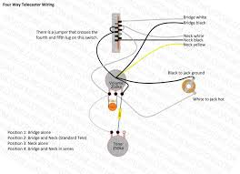 telecaster four way wiring diagram