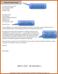 sample thank you letter after interview via email sample of thank you letter apa examples