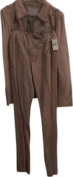 wilsons leather sand pant suit