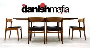 Danish Modern Dining Table - Modern dining room chair