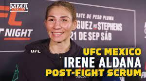 UFC Mexico: Irene Aldana Says Fighting ...